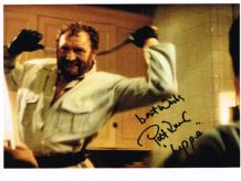 Pat Roach Autograph Signed Photo - Lippe
